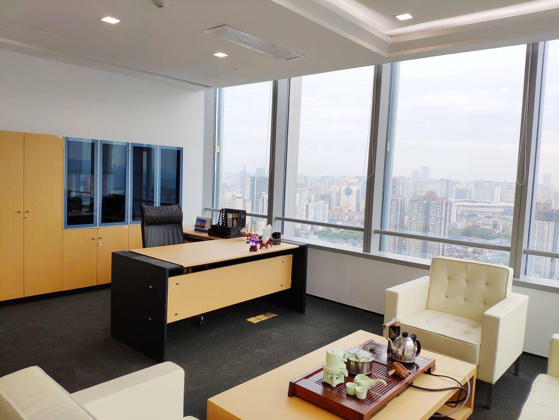 五一广场长沙市第一高楼精装带家具945平拎包办公随时看房视野开阔