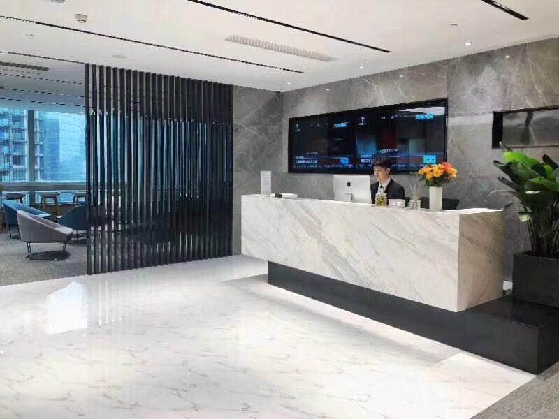双地铁口 湖南第一高楼 管家一站式服务九龙仓1600平电梯口轻奢装修带家具