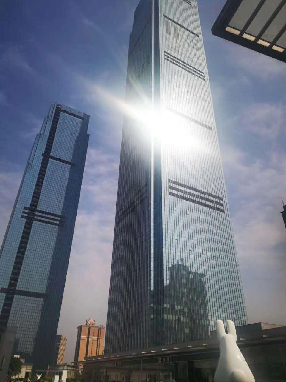 长沙中心 地标建筑(无中介费)超5A 国金中心 236平 精装带家具